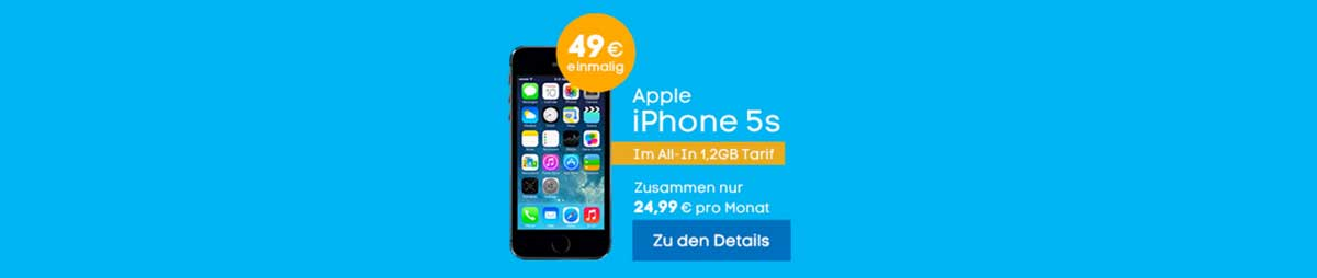 Blau iPhone 5S Bundle